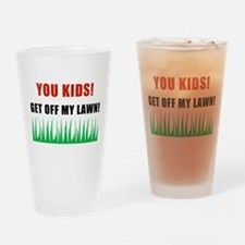 You Kids Get Off My Lawn Pint Glass