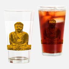Buddha Graphic Pint Glass