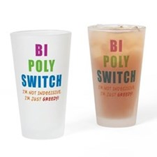 Bi Poly Switch Not Indecisive Pint Glass
