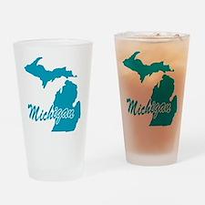 State Michigan Pint Glass