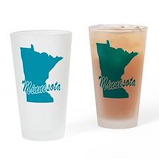 State Minnesota Pint Glass
