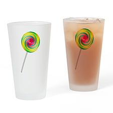 Swirly Lollipop Pint Glass