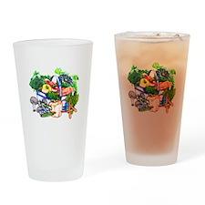 Veggie Basket Pint Glass