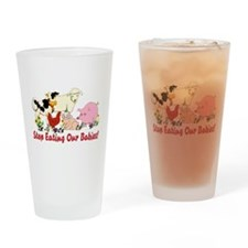 Stop Eating Our Babies Pint Glass