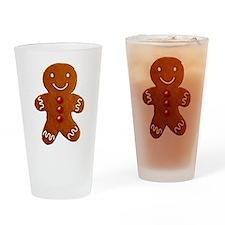 Gingerbread Man Pint Glass