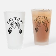 Tatting Pint Glass