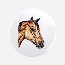 "Quarter Horse 3.5"" Button"