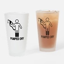 Gas Pumped Dry Pint Glass