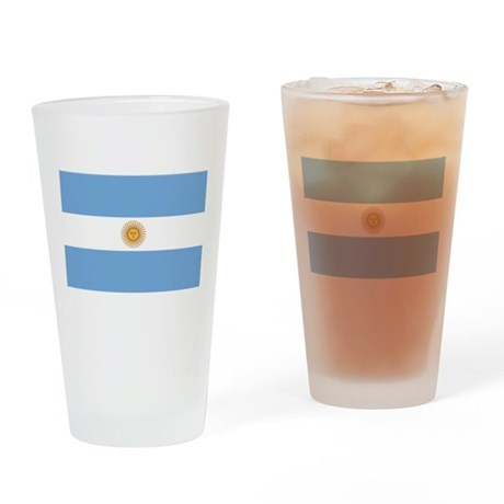Argentina Flag Pint Glass