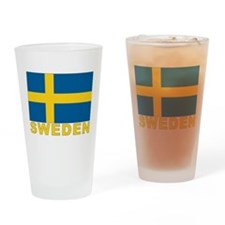Sweden Flag Pint Glass