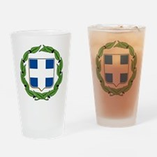 Greek Coat of Arms Pint Glass