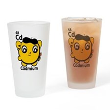 Cute Element Cadmium Pint Glass