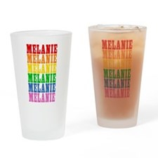 Rainbow Name Pint Glass