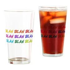 Blah Blah Blah Pint Glass