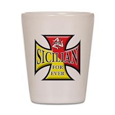 Sicilian Pride Shot Glass