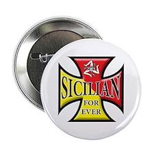 """Sicilian Pride 2.25"""" Button"""