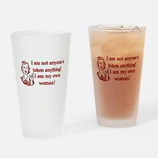 Not Your Token Woman Pint Glass