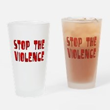 Stop The Violence Pint Glass