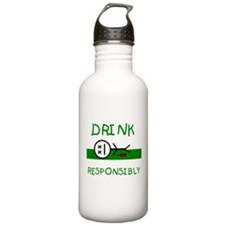 Drink Responsibly Water Bottle