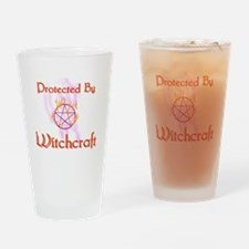 Protected By Witchcraft Pint Glass