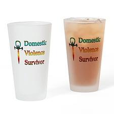 Domestic Violence Survivor Pint Glass
