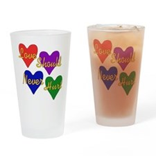 End Domestic Violence Pint Glass
