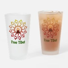 Free Tibet Candle Pint Glass
