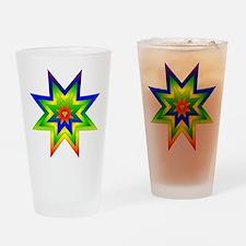 Rainbow Star Pint Glass