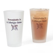 Homophobia Lifestyle Cho Pint Glass