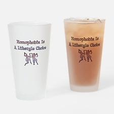 Homophobia Lifestyle Cho Pint Glass