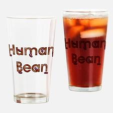 Human Bean Pint Glass