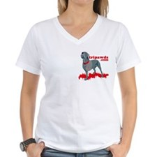 2-sided Tripawd Warrior Bellona Shirt