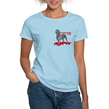 2-sided Tripawd Warrior Bellona T-Shirt