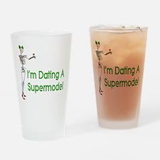 Date Supermodels Pint Glass