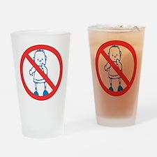 Anti-Kids Pint Glass