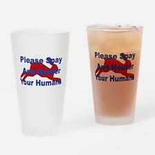 Overpopulation Bombs Pint Glass