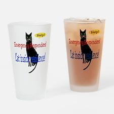EmergencyResponder Cat Alert Pint Glass