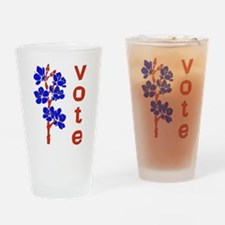 2008 Election Voter Pint Glass