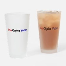 Pro-Choice Voter Pint Glass
