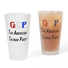 GOP American Taliban Pint Glass