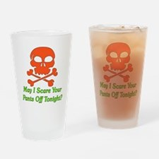 Halloween Pickup Line Pint Glass