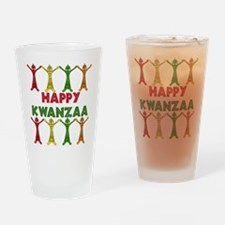 African Dancers Pint Glass