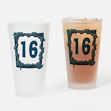 16th Birthday T-Shirts Pint Glass