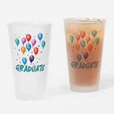 Graduation Balloons Pint Glass