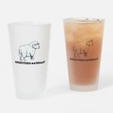 Superstitious Materialists Pint Glass