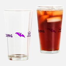 Dingbat King Pint Glass