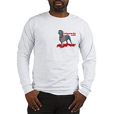 2-Sided Tripawd Warrior Bellona Long Sleeve T-Shir