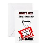 WHAT'S NEXT CHINESE HAMBURGERS? Greeting Cards (Pa