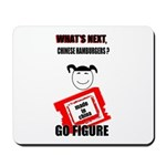 WHAT'S NEXT CHINESE HAMBURGERS? Mousepad