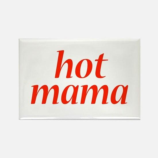 hot mama Rectangle Magnet